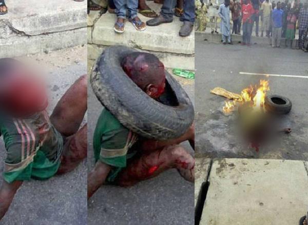 खाैफनाक सजाः खाना चुराने पर गुस्साई भीड़ ने बच्चे को जिंदा जलाया!