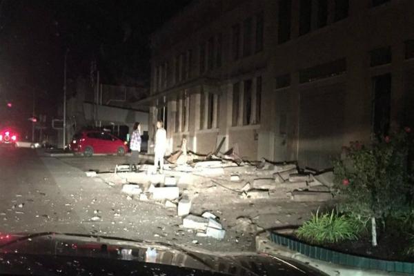 भूकंप के झटके से हिला आेकलाहोमा