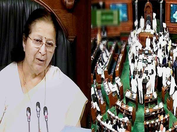 नोटबंदी पर संसद में हंगामा, सुमित्रा महाजन बोली-टीवी पर आने के लिए विपक्ष कर रहा शोर-शराबा