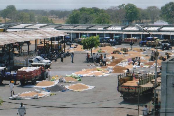 नोटबैनः कृषि मंडियों में कारोबार हुआ ठप, पंजाब में बासमती खरीद लगभग बंद