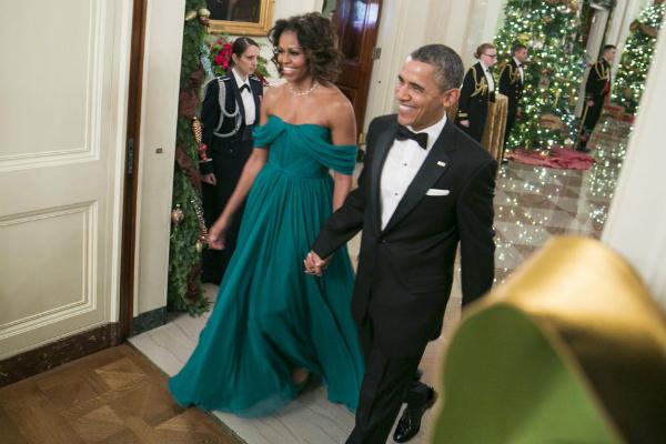 तस्वीरों में देखें व्हाइट हाउस में ओबामा का सफर