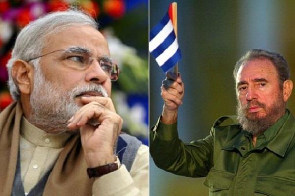 PM मोदी ने कास्त्रो को श्रद्धांजलि देते हुए बताया 'भारत का महान दोस्त '