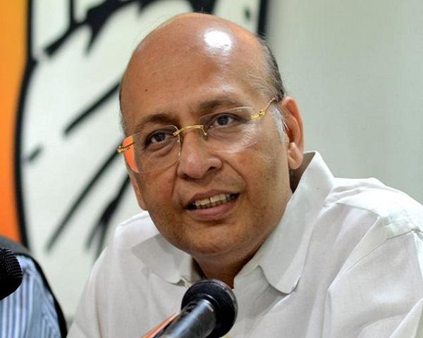 टैक्स ना चुकाने पर कांग्रेसी नेता मनु सिंघवी पर 57 करोड़ का जुर्माना