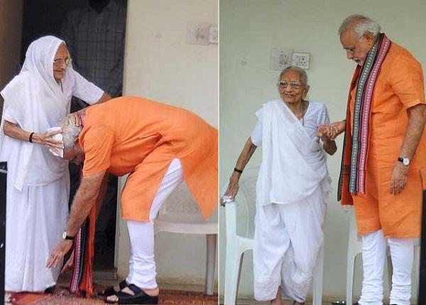 जानिए, कब-कब सुर्खियों में रहीं PM माेदी की मां!(Pics)