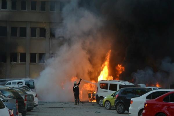 तुर्की में विस्फोट:2 की मौत,16 घायल(Pics)