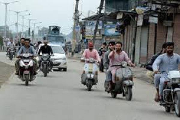 कश्मीर में फिर बहाल हुई पब्लिक ट्रांसपोर्ट सेवा, सुरक्षा के भारी इंतजाम