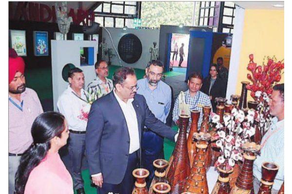 इंटरनैशनल ट्रेड फेयर में चंडीगढ़ के 9 स्टॉल्स