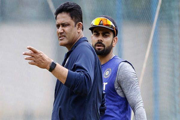 कोहली के खिलाफ गेंद से छेड़छाड़ के आरोपों पर कुंबले ने दिया यह बयान