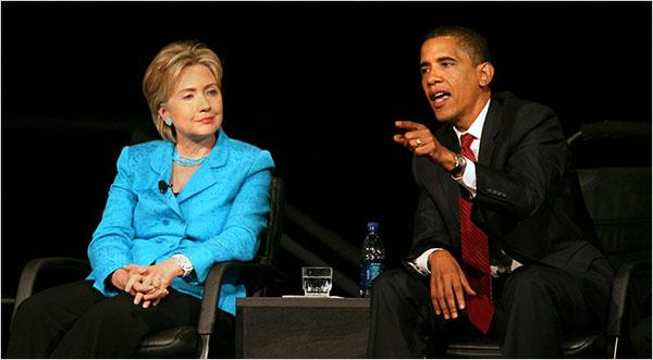 ओबामा ने जमकर की हिलेरी की तारीफ