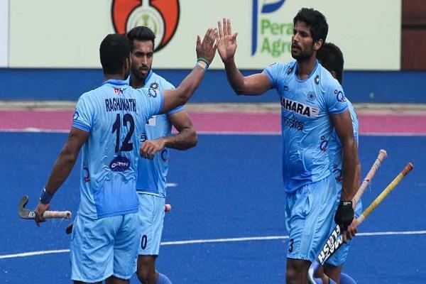 भारत 4 देशों के हॉकी टूर्नामेंट के शुरूआती मैच में आस्ट्रेलिया से हारा