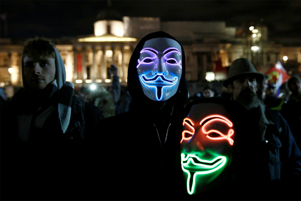 पुलिस ने 47 प्रदर्शनकारियों को किया गिरफ्तार(Pics)