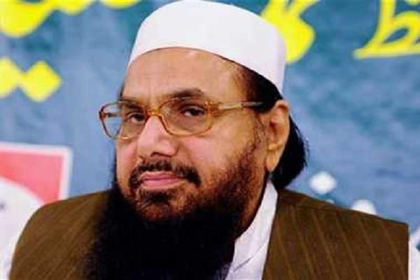 पाकिस्तान का राजनीतिक संकट 'भारतीय साजिश' का हिस्सा: हाफिज सईद