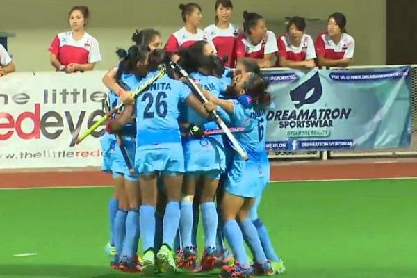 आखिरी मिनटों में भारतीय महिला हॉकी टीम ने दिखाया दमखम, 2-1 से चीन को दी मात