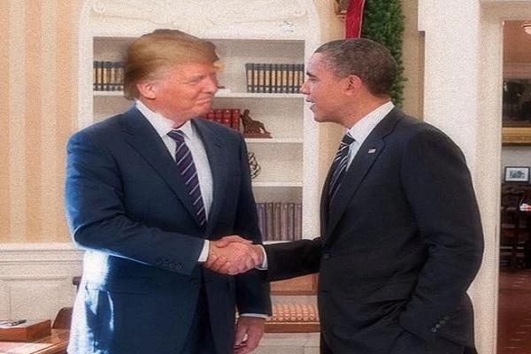 ट्रम्प की जीत पर ओबामा ने किया फोन, व्हाइट हाउस में होगी मुलाकात