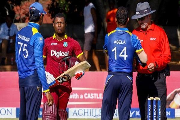एविन लुइस का शतक बेकार, 1 रन से श्रीलंका से हारा वेस्टइंडीज