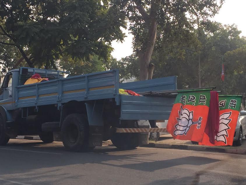 निगम चुनाव: अमित शाह का चंडीगढ़ दौरा, आचार संहिता का हो रहा उल्लंघन