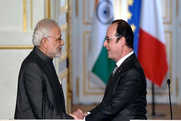 सीमा पार से पैदा किए जाने वाले आतंकवाद के खतरों से लडऩे में भारत को पूरा समर्थन :फ्रांस