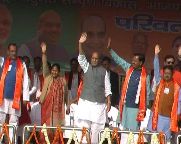 नोटबंदी से चुनाव धनबल और बाहुबल पर नहीं बल्कि निष्पक्ष होगा : राजनाथ