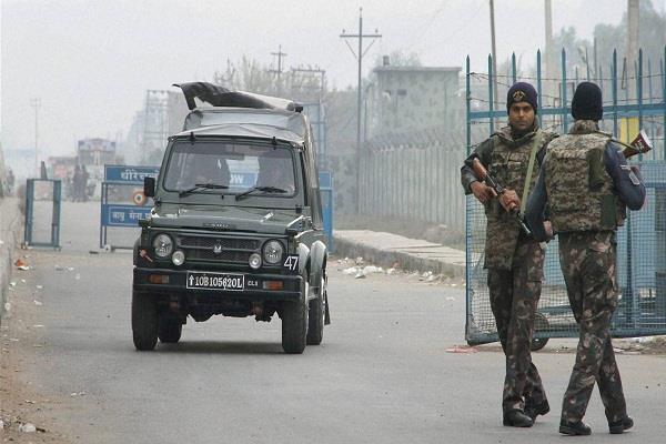 जम्मू कश्मीर में लश्कर का आतंकी अबु बकर ढेर