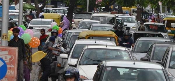 Image result for ट्रैफिक जाम ने लोगो किया परेशान
