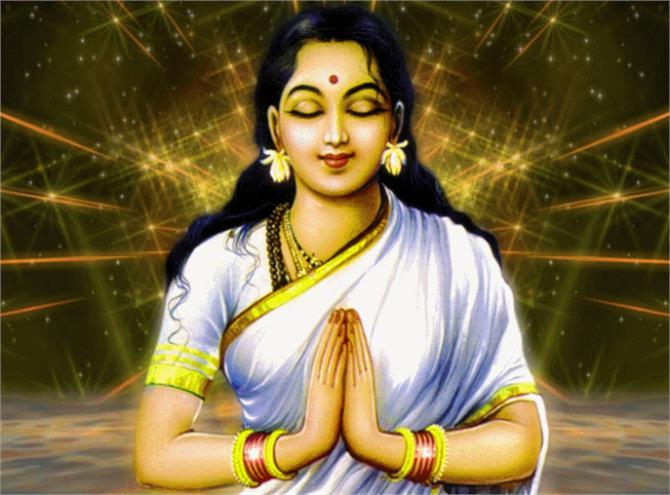 राजा दशरथ को श्राद्ध का भोजन खाते देख डर गई थी देवी सीता