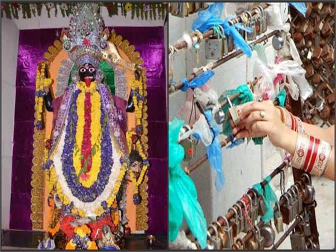 मां काली के मंदिर में भक्त चढ़ाते हैं सोने-चांदी के ताले, पूर्ण होती है मनोकामना