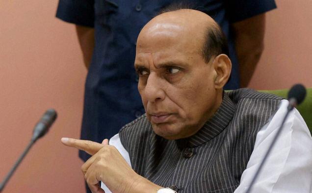 राजनाथ ने भारत-पाक सीमा की सुरक्षा स्थिति का लिया जायजा