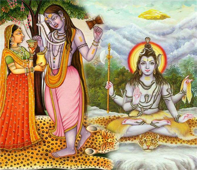 भगवती पार्वती कैसे बनी भगवान शिव की अर्धांगिनी और उन्हें बनाया अर्धनारीश्वर