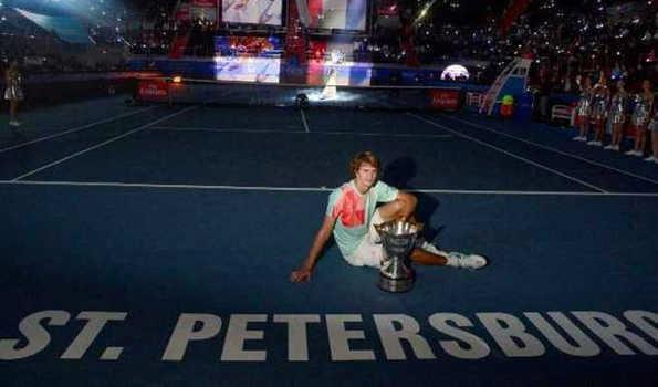 जेवेरेव ने वावरिंका को हराकर जीता सेंट पीट्सबर्ग ओपन