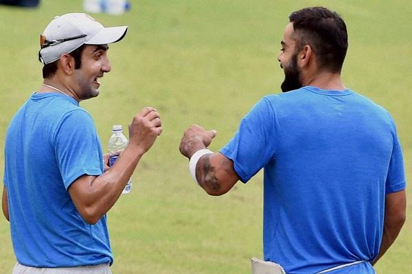 आईपीएल की खठास दूर, अब कोहली-गंभीर की दोस्ती चूर