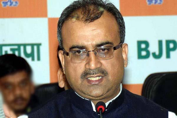 जमानत पर चले व्यक्ति को CM का चेहरा घोषित कर बैक फुट पर आई कांग्रेस : मंगल पांडेय