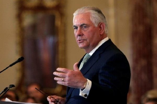 टिलरसन कल अमेरिका की भारत नीति पर देंगे भाषण