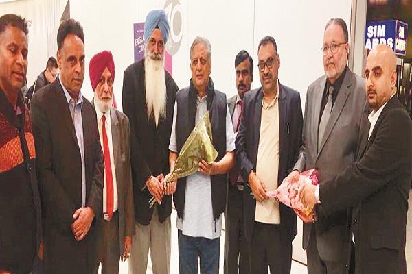 NRI समाज ने लंदन पहुंचे राणा KP का किया स्वागत
