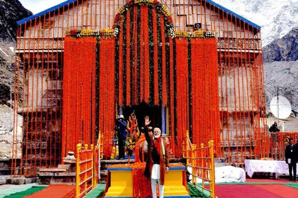 उत्तराखंड में मोदी का 'जय-जय केदार', PM ने 5 पुन:र्निर्माण प्रोजेक्टों की रखी नींव