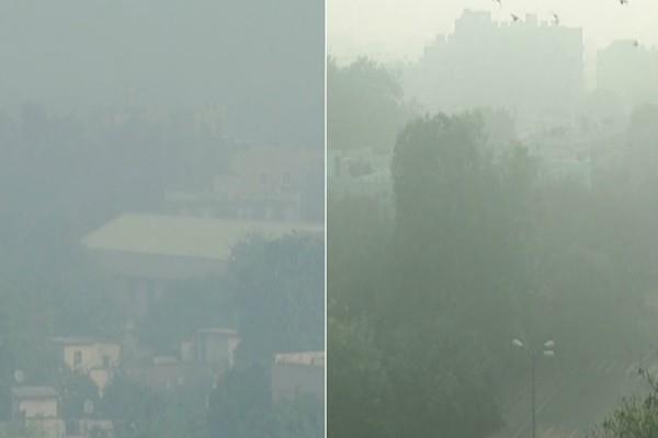 SC के आदेश को ठेंगा- बैन के बाद भी आतिशबाजी, धुंध के साथ हुई दिल्ली वालों की सुबह