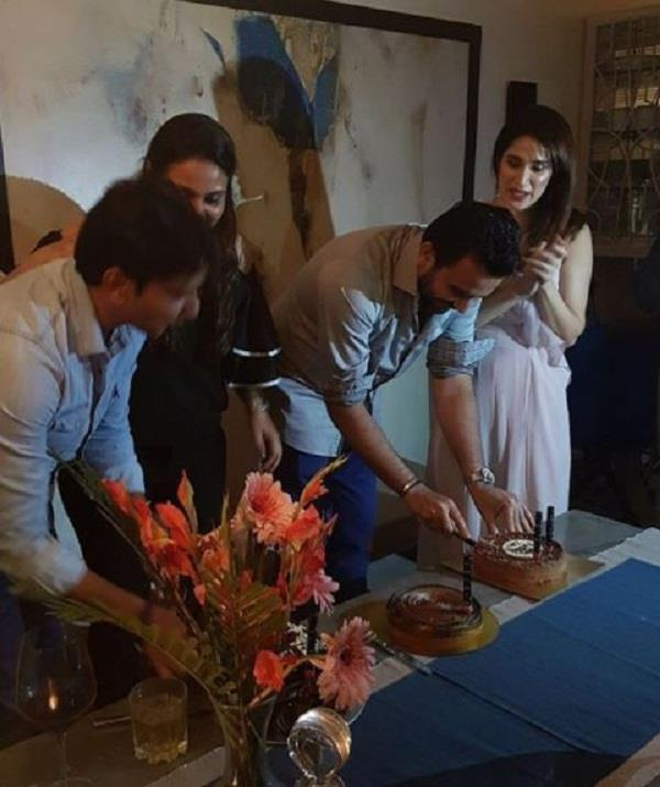 sagarika ghatge celebrates zaheer khan birthday