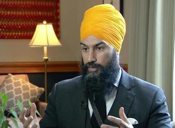 कनाडा न्यू डैमोक्रेटिक पार्टी के अध्यक्ष जगमीत सिंह के बयान से पंजाब की राजनीति में भूचाल