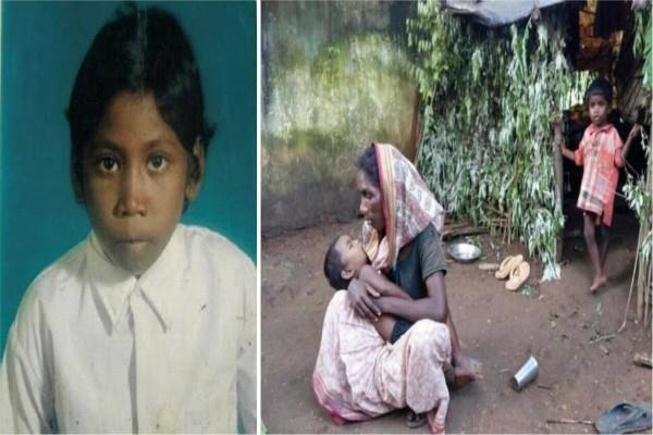 भूख से मरी बच्ची की मां को गांव से बाहर निकाला