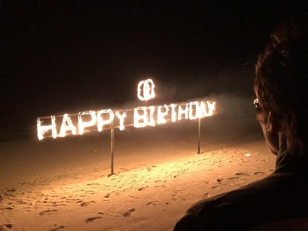 abhishek celebrated amitabh birthday