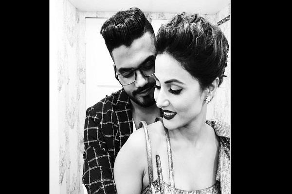 hina khan boyfriend shared post