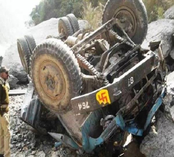 हिमाचल के लाहौल स्पीति में हुअा बड़ा हादसा, 2 की मौत-22 घायल