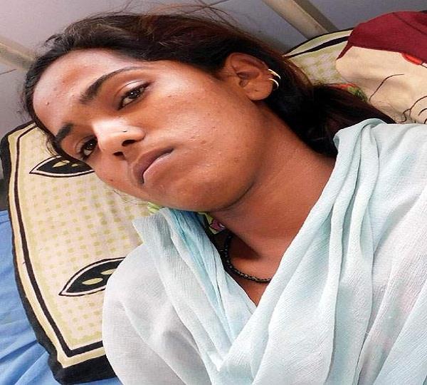 महिला ने पुलिस पर लगाया मारपीट का आरोप