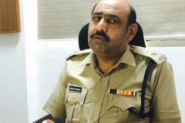 सस्पेंड DCP अशोक कुमार बहाल, अंबाला में कमांडेंट तैनात