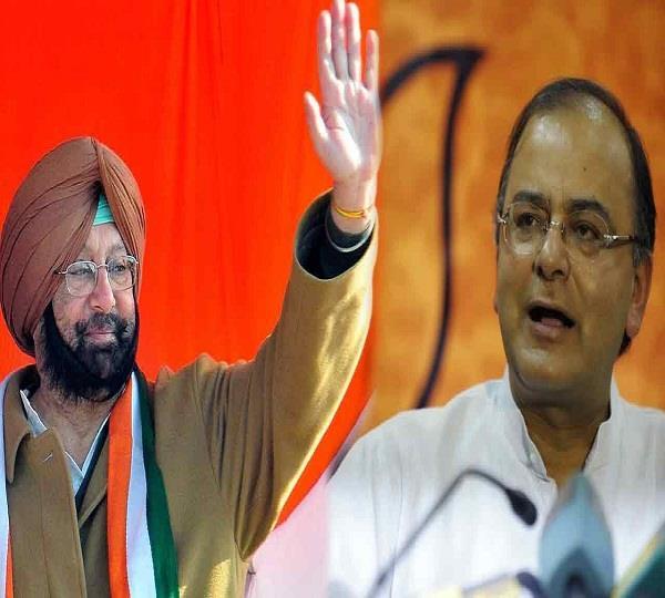 मुख्यमंत्री अमरेंद्र ने जेतली को पत्र लिख उठाया ऋणों का मुद्दा