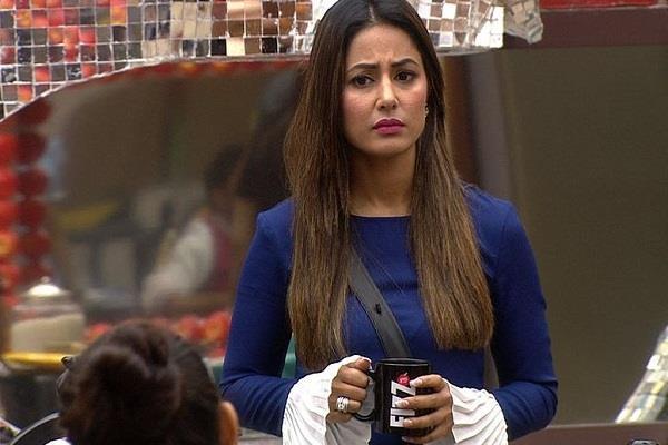 hina khan injured