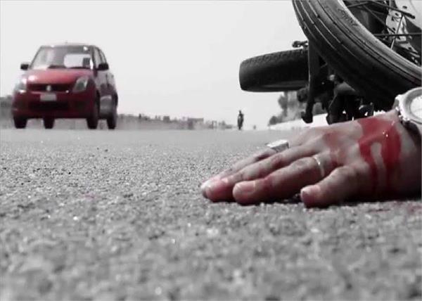 हाईवे पर चाचा-भतीजे को अज्ञात वाहन ने मारी टक्कर, दोनों की मौत