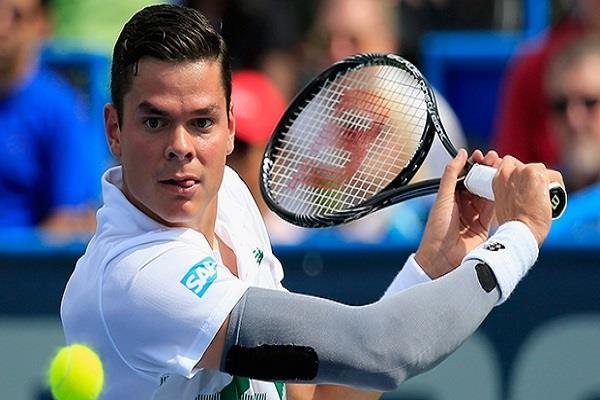 चोट के कारण राओनिक जापान ओपन टेनिस टूर्नामेंट से हुए बाहर