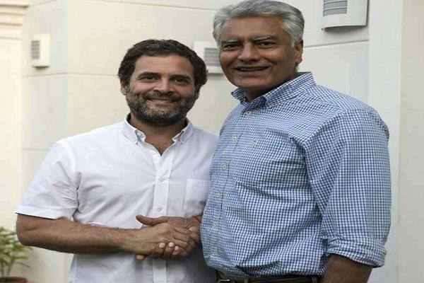 जीत के बाद राहुल गांधी से मिले जाखड़, पार्टी की कमान संभालने का किया अनुरोध