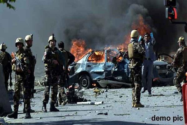 काबुल की मस्जिद में आत्मघाती हमला, 30 की मौत