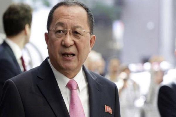 उत्तर कोरिया के परमाणु हथियार 'न्याय की तलवार': विदेश मंत्री